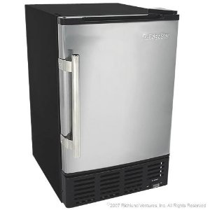 Edge Star Built-In Undercounter Ice Maker with Stainless Steel Door
