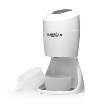 Hawaiian Electric Shaved Ice Machine - Use this ice shaver for Snow Cones, Iced Tea, Slushies, Margaritas, Fun Drinks.