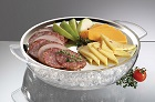 CProdyne ICED Serving Platter using ice cubes from your portable ice maker