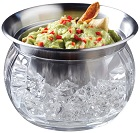 Prodyne ICED Dip-on-Ice Serving Bowl for Dip on Ice Cubes