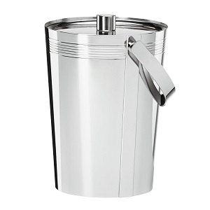 Lenox 841985 Tuscany Classics Metal Ice Bucket with Handle, Silver.