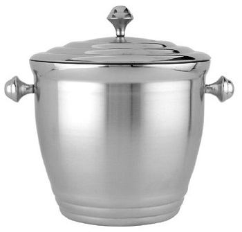 Beautiful Lenox Tuscany Classics Tarnish free Stainless Steel Ice Bucket.