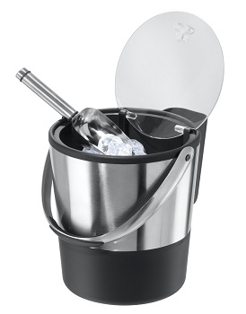Oggi Double Wall Ice Bucket with Flip Lid