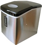 Portable Stainless Steel Ice Machine