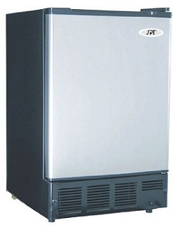Undercounter Ice Maker with Stainless Steel Door